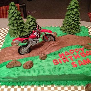 Pleasing Dirt Bike Cake 15 Cakes Cakesdecor Funny Birthday Cards Online Alyptdamsfinfo