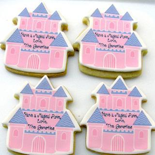 Castle Cookies - Cake by Cheryl
