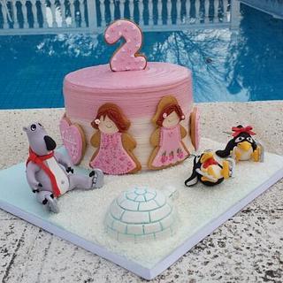 BERNARD BEAR CAKE