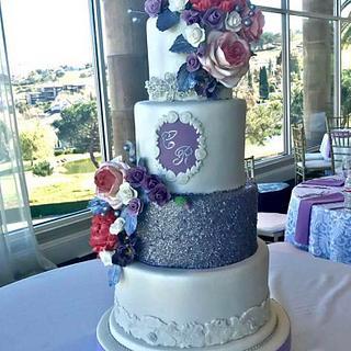 All edible Wedding cake - Cake by Pogihekk44