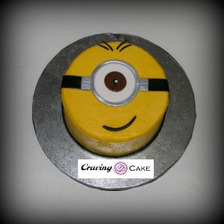 Minion Birthday Cake - Cake by Craving Cake
