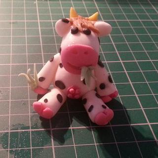 Cute Little Cow Topper
