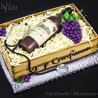 Bottle Wine Cake
