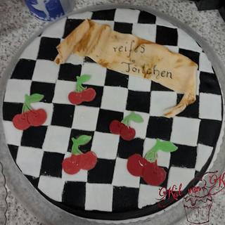 Rockabilly-Cherry - Cake by KaetvanKirsch
