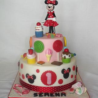 Candy Minnie  - Cake by mariella