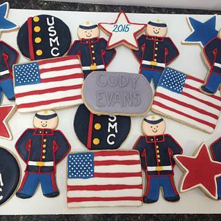 Marine Cookies - Cake by Melanie Mangrum