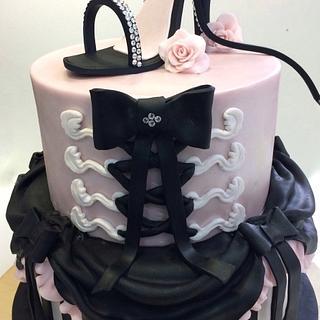 Saloon Cake