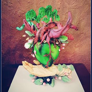 EARTH DAY Cpc's Collaboration - Cake by Wendy