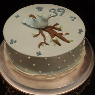 Blue Bird Cake