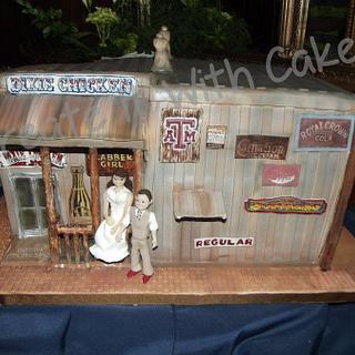 Dixie Chicken Wedding Cake