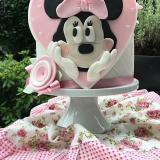 Minnie Mouse Birthday cake girl