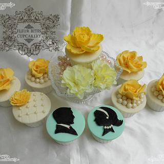 Victorian Wedding Cupcakes