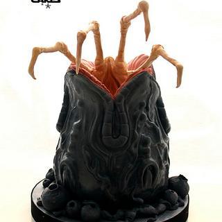 Alien Egg Cake