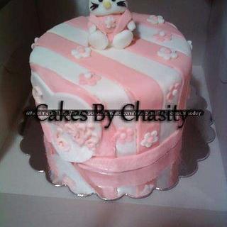 hello kitty  - Cake by chasity hurley