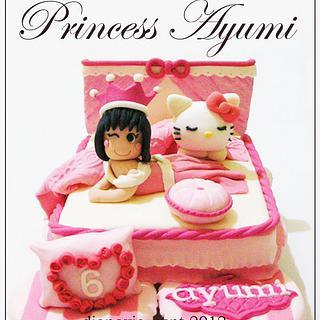 Princess Ayumi - Cake by Diana