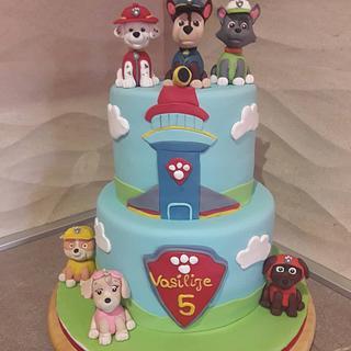 Paw patrol cake - Cake by Torte Panda
