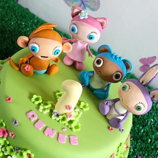 Waybuloo cake - Cake by Zoe's Fancy Cakes