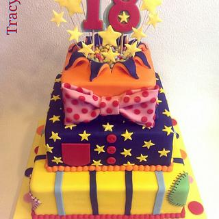 Mr Tumble inspired cake