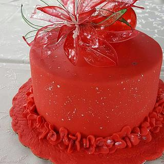 Red magic - Cake by Svilena Balevska