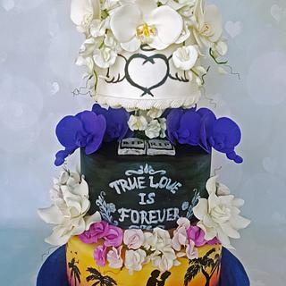 Wedding cake - Cake by Rose Dream Cakes