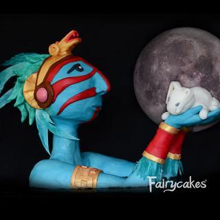 "Children's classic books Collab- ""The Rabit in the Moon"" (El conejo en la luna)"