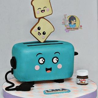 Toaster cake
