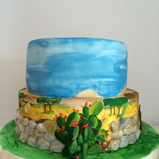 Sicily cake - Cake by MELANIASCAKEATELIER