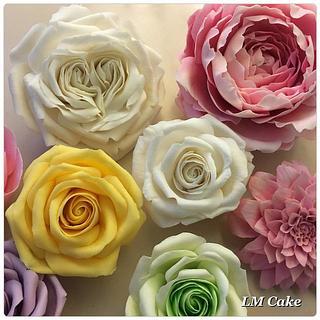 My flower tutorials