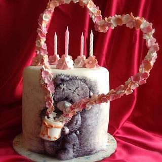 "Cake -""Favorite Teddy bear"""