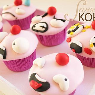 Wicked Lulu Cupcakes - Cake by SweetKOKEKO by Arantxa