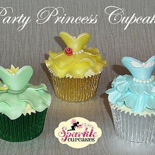 Party Princess Cupcakes