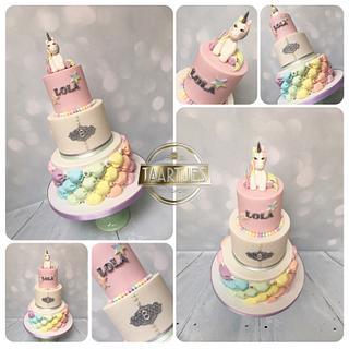 Unicorns & Rainbows - Cake by Taartjes Toko