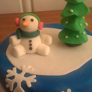 Winter - Cake by Maria Olsen