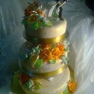 Wedding Bliss - Cake by Natasha