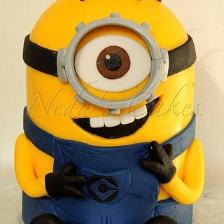 Another minion cake!