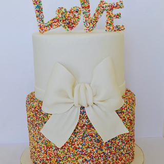 Sprinkles and love xxxx mwahhhhh