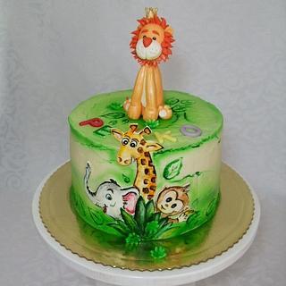 ZOO cake - Cake by Vebi cakes