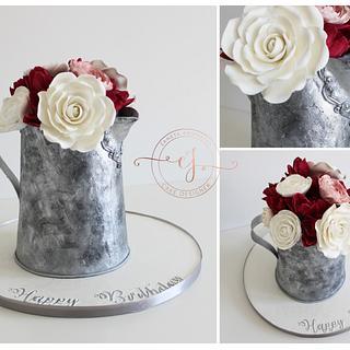 Vintage Jug Cake  - Cake by Zaneta Wasilewska