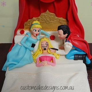 Parody Sleeping Beauty 21st Cake