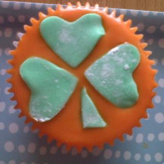 St Patrick's Cupcakes