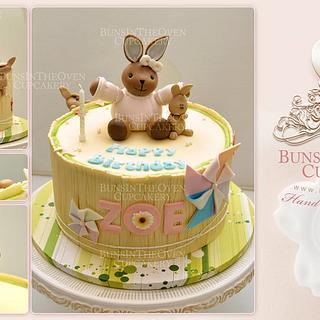 Zoe's Kaloo Rabbit Cake