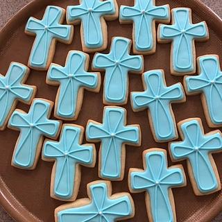 Christening Cookie