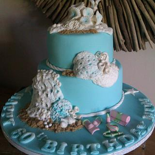 Under the Sea cake - Cake by Cutabovecakes