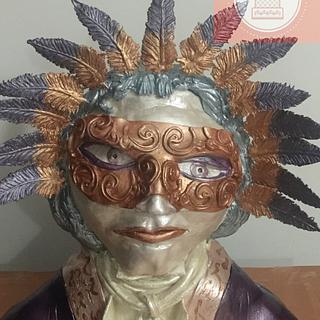 """Carnival Cake """"The Venician Lion"""""""