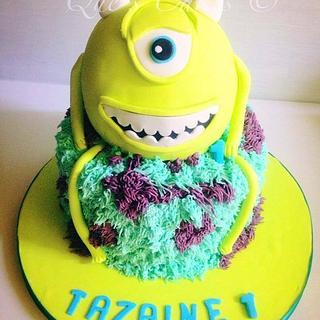 Monster Inc First Birthday