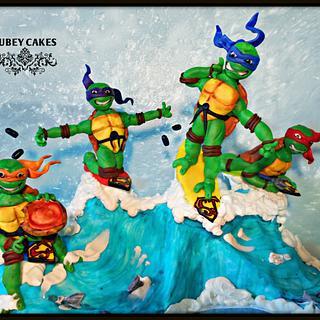 Superjosh Collaboration-Ninja Turtles