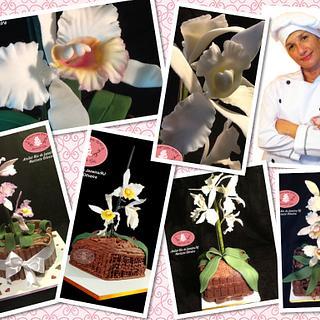Cake Orquidea - Cake by Açúcar com Arte