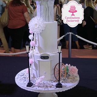 💕 Romantic Wedding Cake 💕 - Cake by Carolinchens Zuckerwelt