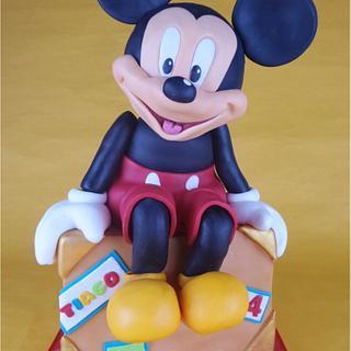 Mickey cake - Cake by Bety'Sugarland by Elisabete Caseiro