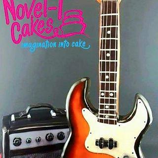 Guitar and amp cake
